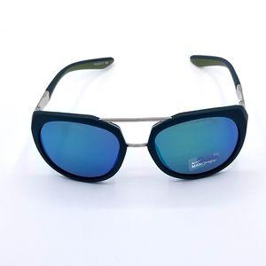 Nike Flex Motion 54mm Semi-Oval Shape Sunglasses Matte Midnight Teal